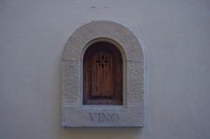 via del Trebbio  lato Palazzo Antinori